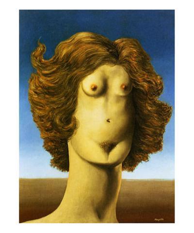 Le Viol, c.1934-Rene Magritte-Art Print