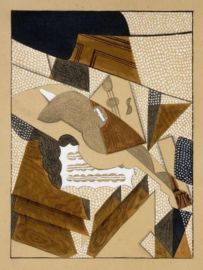 Le Violon, C.1915-1916-Juan Gris-Giclee Print