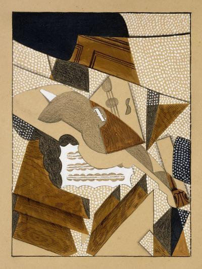 Le Violon-Juan Gris-Giclee Print