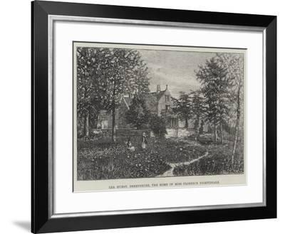 Lea Hurst, Derbyshire, the Home of Miss Florence Nightingale--Framed Giclee Print