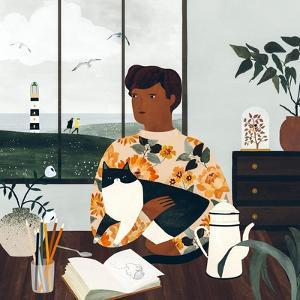 Cloudy Afternoon, 2019 by Lea Le Pivert