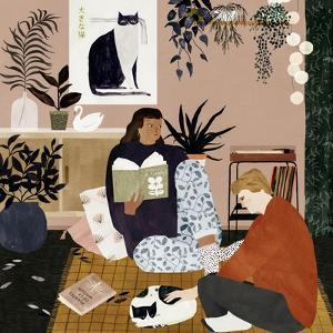 Cosy Evening, 2019 by Lea Le Pivert