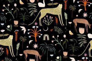 Wild Garden Pattern, 2018 by Lea Le Pivert