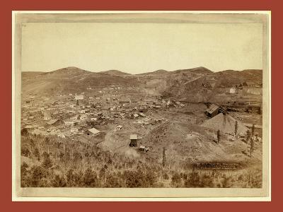 Lead City Mines and Mills. the Great Homestake Mines and Mills-John C. H. Grabill-Giclee Print