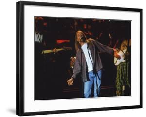 Lead Singer Axl Rose of the Rock Group Guns N' Roses