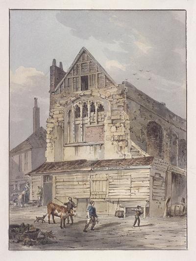 Leadenhall Chapel, London, C1810-George Shepherd-Giclee Print