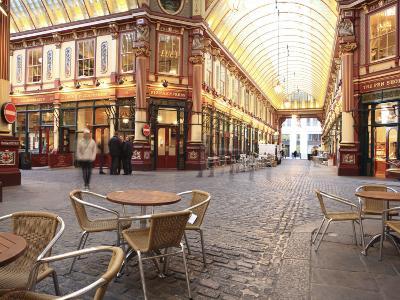 Leadenhall Market, City of London, London, England, United Kingdom, Europe-Vincenzo Lombardo-Photographic Print