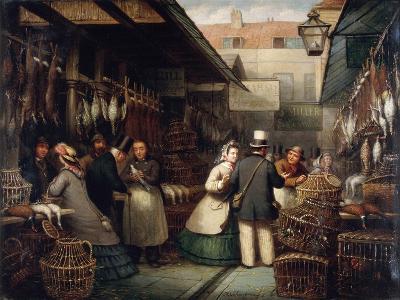 Leadenhall Market, London, 1865-Andries Scheerboom-Giclee Print