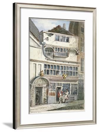 Leadenhall Street, City of London, 1811-John Nixon-Framed Giclee Print