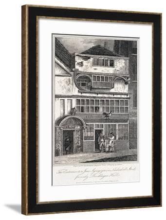Leadenhall Street, London, 1811-John Nixon-Framed Giclee Print