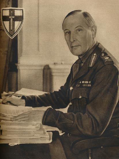 'Leader of Britain's Crusaders', 1942-Unknown-Photographic Print