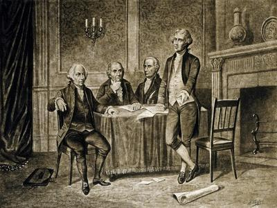 Leaders of the First Continental Congress, 1774, Published C.1894-Augustus Tholey-Giclee Print