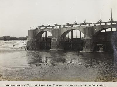 Leadership Corps of Engineers 2nd Area 3rd Army, Divider Channel Outlet Straussina Near Sagrado--Photographic Print