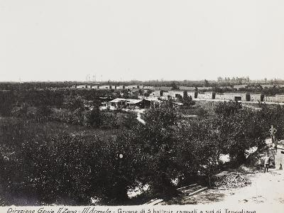 Leadership Corps of Engineers 2nd Area 3rd Army, Group of Three Field Batteries South of Tapoglaino--Photographic Print