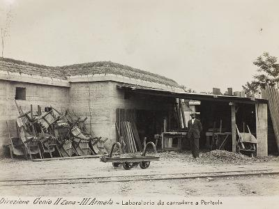 Leadership Corps of Engineers 2nd Area 3rd Army, Laboratory Carters (Wagons) in Perteole--Photographic Print