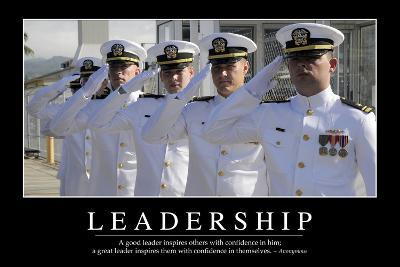 Leadership: Inspirational Quote and Motivational Poster--Photographic Print