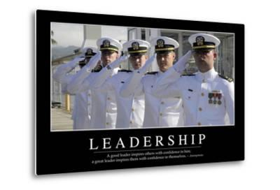 Leadership: Inspirational Quote and Motivational Poster