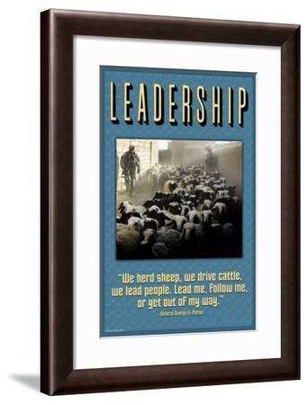 Leadership-Wilbur Pierce-Framed Art Print