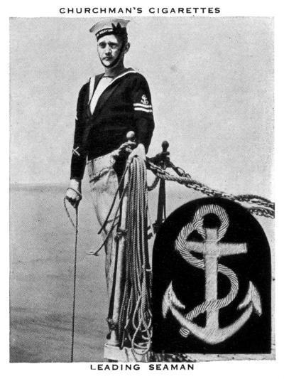 Leading Seaman, 1937- WA & AC Churchman-Giclee Print