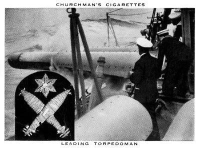 Leading Torpedoman, 1937- WA & AC Churchman-Giclee Print