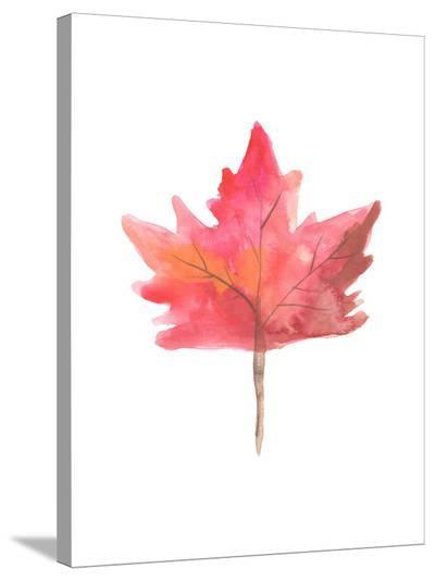 Leaf 1-Jetty Printables-Stretched Canvas Print