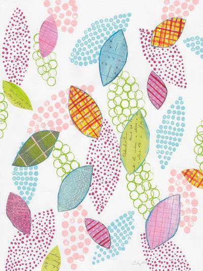 Leaf Circles-Courtney Prahl-Art Print