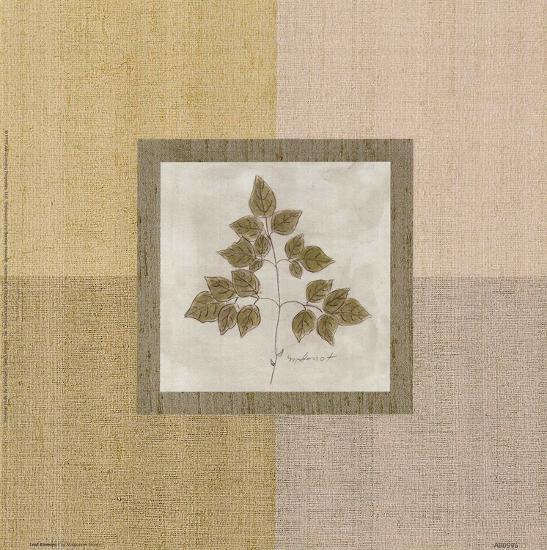 Leaf Element l-Marguerite Gonot-Art Print