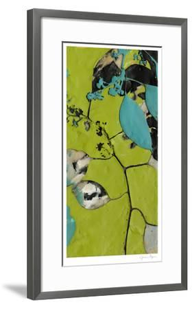 Leaf Extraction II-Jennifer Goldberger-Framed Limited Edition