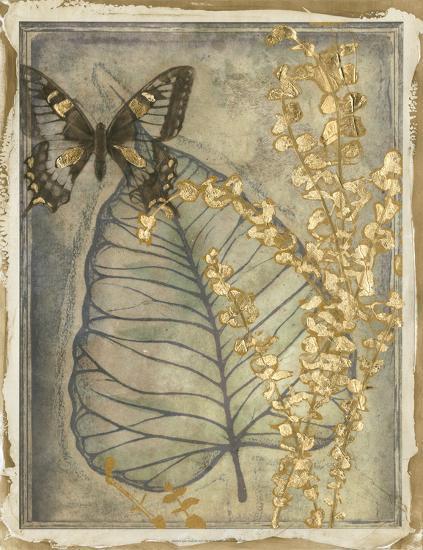 Leaf Fossil I-Jennifer Goldberger-Giclee Print