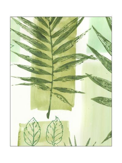 Leaf Impressions III-Vision Studio-Art Print