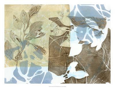 Leaf Inclusion II-Jennifer Goldberger-Premium Giclee Print