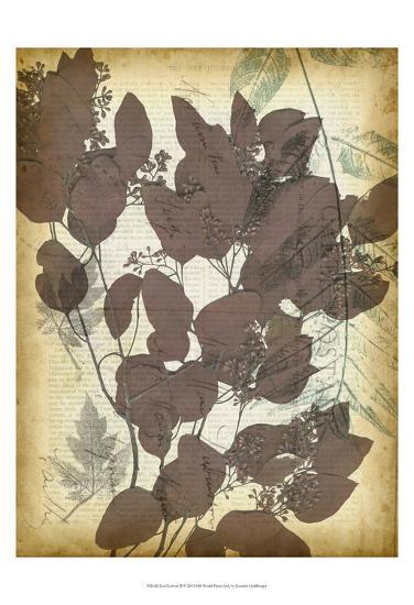 Leaf Letters II-Jennifer Goldberger-Art Print