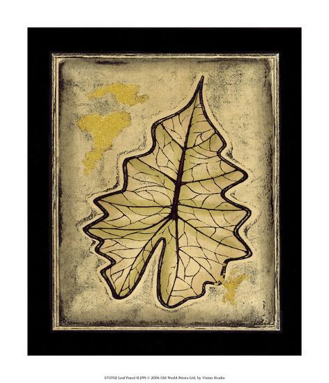 Leaf Panel II--Giclee Print