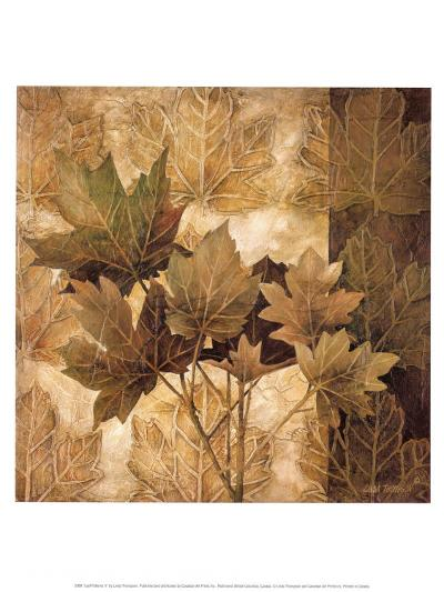 Leaf Patterns II-Linda Thompson-Art Print