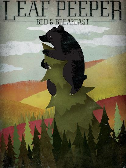 Leaf Peeper-Ryan Fowler-Art Print