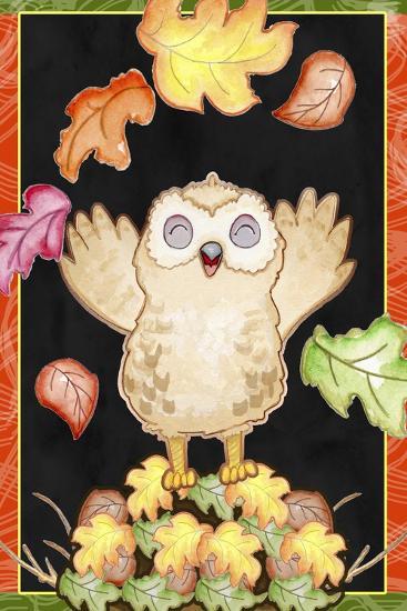 Leaf Pile-Valarie Wade-Premium Giclee Print