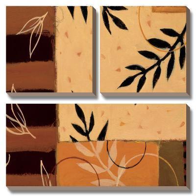 Leaf Poem I-Susan Dorf-Canvas Art Set