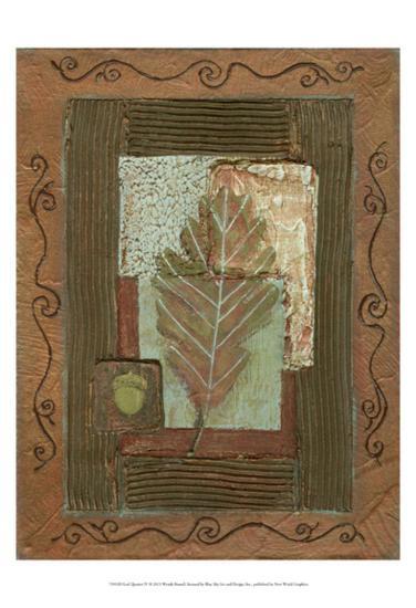 Leaf Quartet IV-Wendy Russell-Art Print