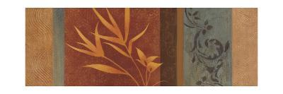 Leaf Silhouette I-Jordan Gray-Art Print