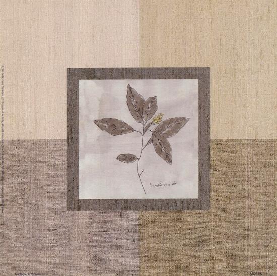 Leaf Spray l-Marguerite Gonot-Art Print