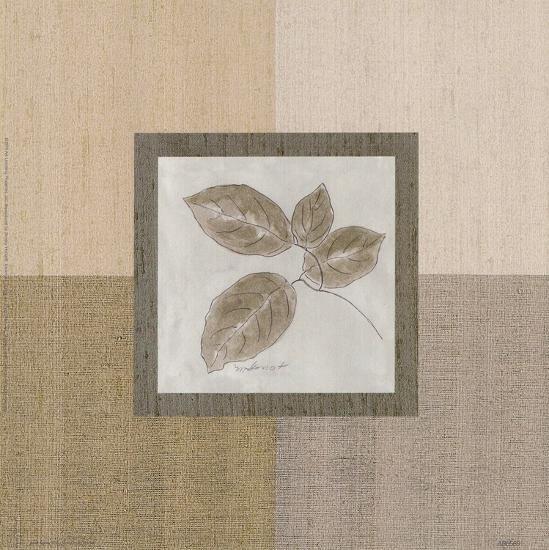 Leaf Spray ll-Marguerite Gonot-Art Print
