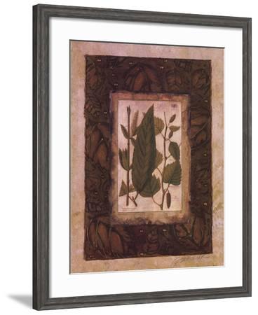 Leaf Study I-Merri Pattinian-Framed Art Print