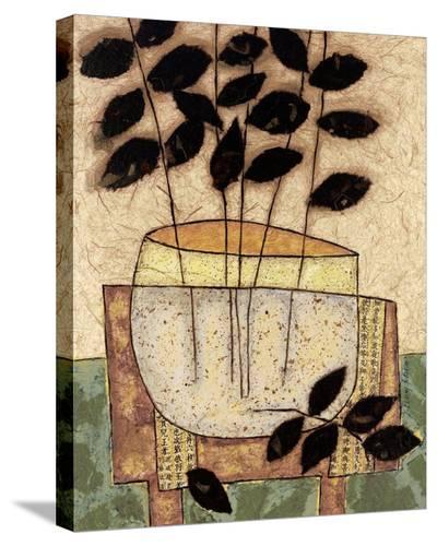 Leaf Vase I-Penny Feder-Stretched Canvas Print