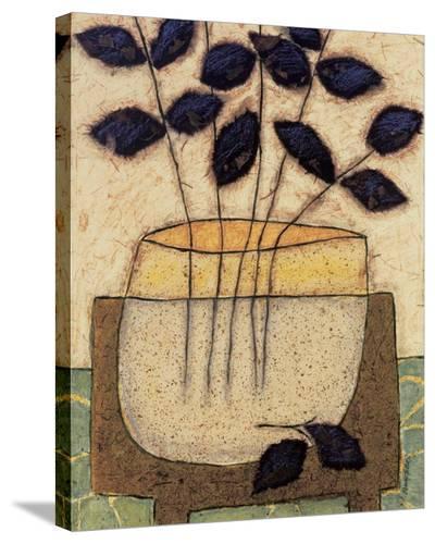 Leaf Vase II-Penny Feder-Stretched Canvas Print