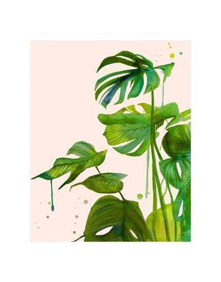 Leafy Greens Edition 1-Jessica Durrant-Art Print