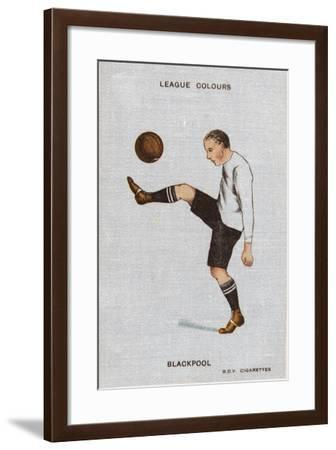 League Colours - Blackpool--Framed Giclee Print