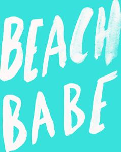 Beach Babe X Turquoise by Leah Flores