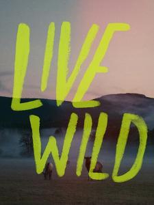 Live Wild Elk by Leah Flores