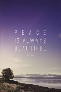 Peace Is Always Beautiful by Leah Flores