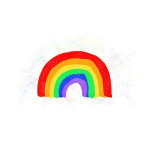Rainbow Love by Leah Flores